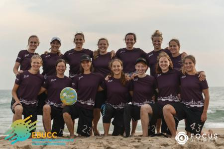 Команда Zuf Ladies натурнире EBUCC 2018 (ЖД, 3/16)