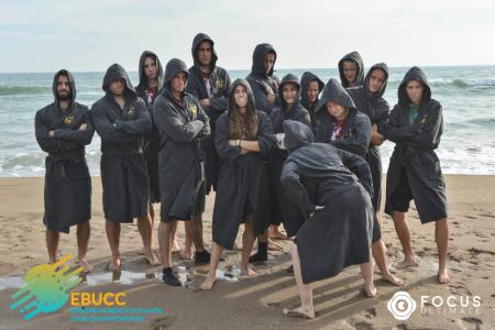 Команда Chupacabras натурнире EBUCC 2018 (МД, 9/16)