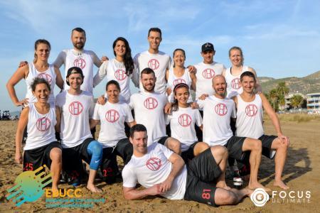 Команда TBC натурнире EBUCC 2018 (МД, 13/16)
