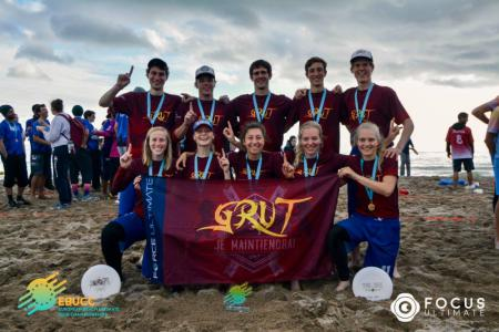 Команда GRUT натурнире EBUCC 2018 (МД, 1/16)