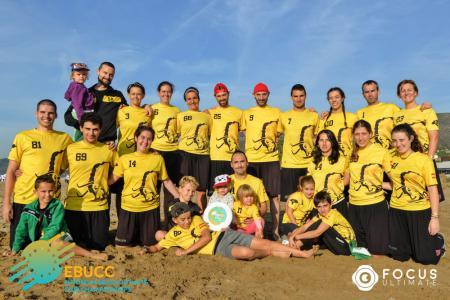 Команда Corocotta натурнире EBUCC 2018 (МД, 11/16)