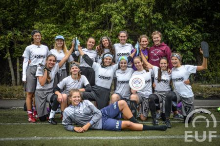 Команда Cosmo Maribor Women натурнире EUCR-E O+W 2018 (ЖД, 6/7)