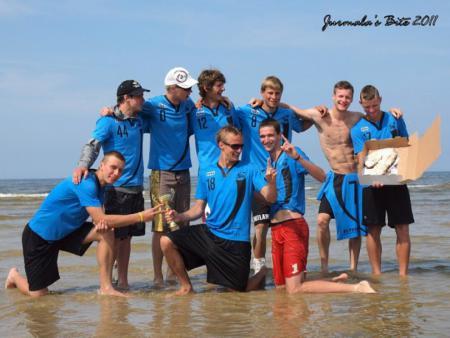 Команда Salaspils натурнире Jurmalas Bite 2011 (ОД, 1/6)