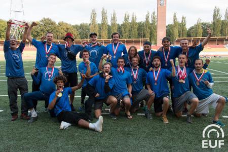 Команда The Mooncatchers натурнире EUCF 2018 (ОД, 3/24)
