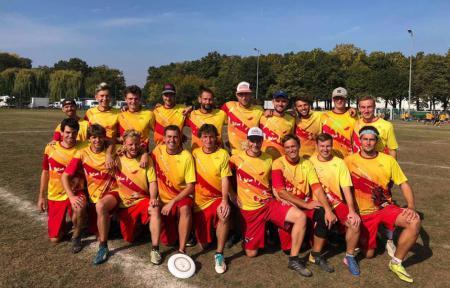 Команда Yellow Block натурнире EUCF 2018 (ОД, 15/24)