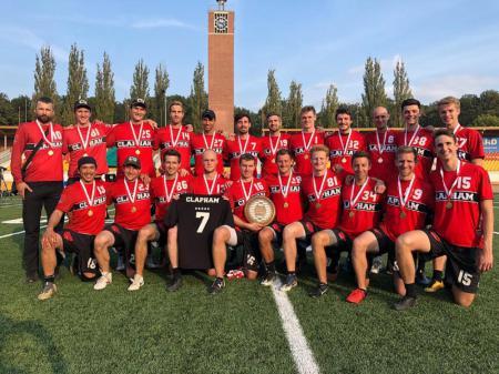 Команда Clapham натурнире EUCF 2018 (ОД, 1/24)