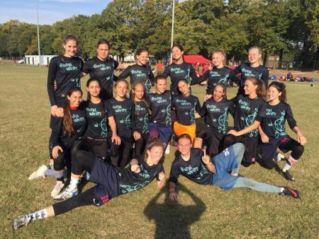 Команда SouthWest натурнире EUCF 2018 (ЖД, 5/12)