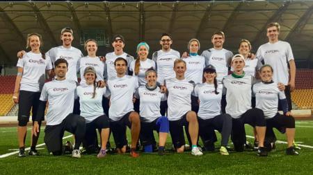 Команда Hässliche Erdferkel натурнире EUCF 2018 (МД, 2/12)