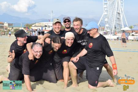 Команда Sky Hawks на турнире Burla Beach Cup 2018 (Open, 8/12)