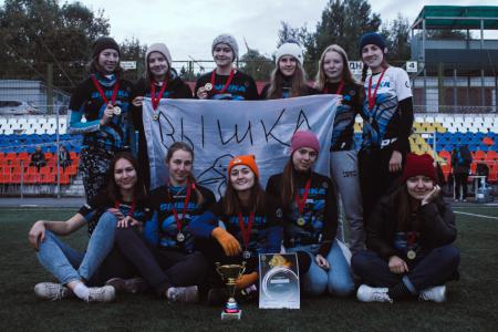 Команда НИУ ВШЭ натурнире Кубок Столетовых 2018 (ЖД, 1/9)