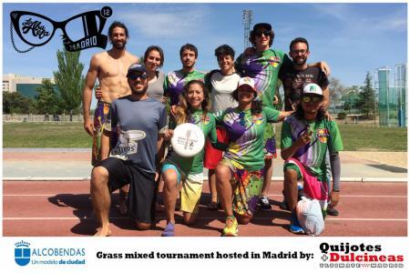 Команда DISCACHOS натурнире XII Trofeo de la Abuela 2017 (Mixed, 6/12)