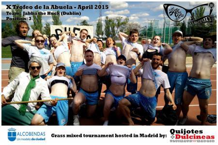 Команда Jabba The Huck натурнире X Edición Trofeo de la Abuela 2015 (Mixed, 3/12)