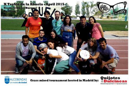 Команда Cidbee натурнире X Edición Trofeo de la Abuela 2015 (Mixed, 9/12)