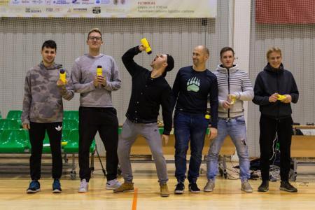 Команда Marių Meškos натурнире Rigas Rudens Tryouts 2018 (ОД, 4/7)