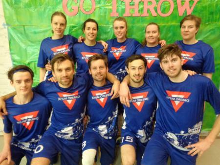 Команда KFUM Örebro натурнире GoThrow 2017 (МД, 1/20)