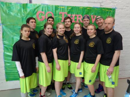 Команда Turku Terror натурнире GoThrow 2017 (МД, 3/20)