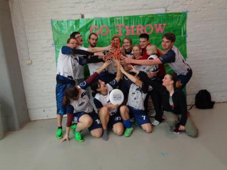 Команда Huskies натурнире GoThrow 2017 (МД, 16/20)