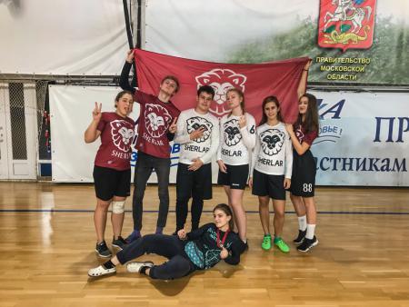 Команда Sherlar-2 натурнире I этап первенства России по алтимату (ОД, 9/12)