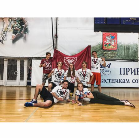 Команда Sherlar натурнире I этап первенства России по алтимату (ОД, 3/12)