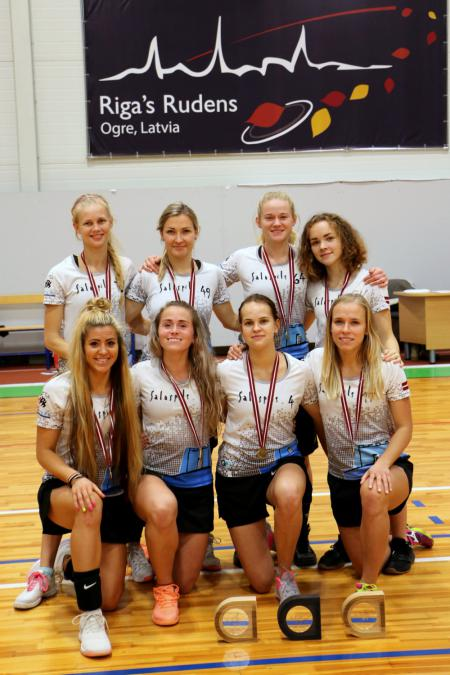 Команда Salaspils FK натурнире Rigas Rudens 2018 (ЖД, 1/13)