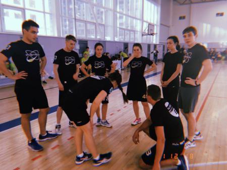 Команда Позитрон натурнире Стрелка 2018 (МД, 13/16)