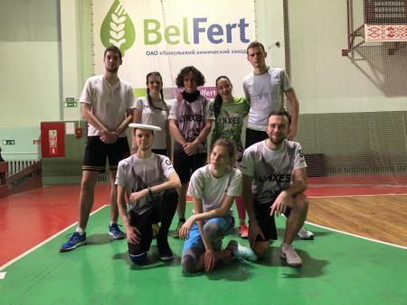 Команда Lynxes натурнире Lynxes' White Cup 2018 (МД, 6/6)