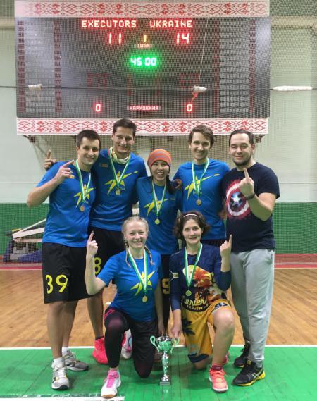 Команда Team Ukraine натурнире Lynxes' White Cup 2018 (МД, 1/6)