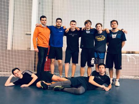 Команда НГТУ натурнире Конституционный слет 2018 (ОД, 20/20)