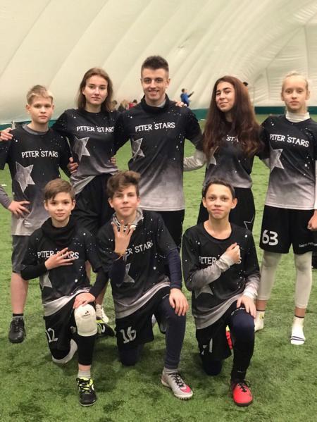 Команда Piter Stars - 1 натурнире СЗЛ 2018 (Школьный дивизион, 4/7)
