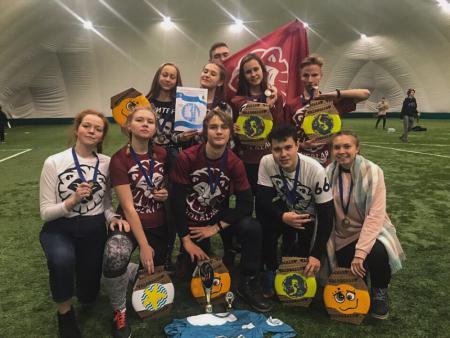 Команда Sherlar натурнире СЗЛ 2018 (Школьный дивизион, 5/7)