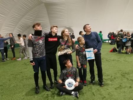 Команда Смельчаки натурнире СЗЛ 2018 (Школьный дивизион, 6/7)