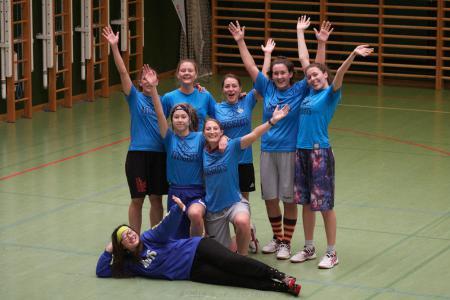 Команда innsisters Tirol натурнире Merry Mantis 2018 (ЖД, 6/11)