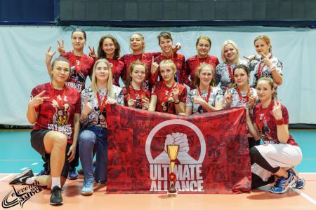 Команда Ultimate Alliance 2.0 натурнире ЗаПуск 2019 (ЖД, 2/12)