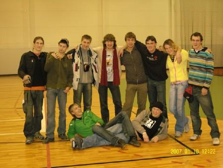 Команда Флаинг Степс натурнире Rigas Rudens 2007 (ОД, 11/20)