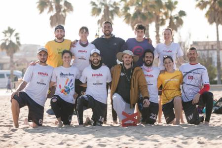 Команда ESP Mixed натурнире Sabe a Mixta 2019 (Mixed 1, 1/16)