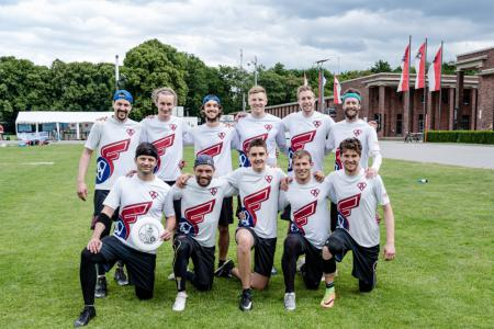 Команда Flying Angels Bern на турнире Disc Days Cologne 2019 (ОД, 1/16)