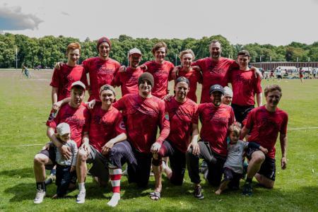 Команда Frühsport 0,2 натурнире Disc Days Cologne 2019 (ОД, 14/16)