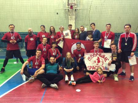 Команда Спэйс Джэм-1 натурнире Кубок ВоГУ 2019 (ОД, 2/8)