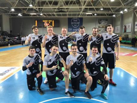 Команда Skraidantys Drambliai натурнире LUCi 2018-2019 league (Finals) (ОД, 2/10)