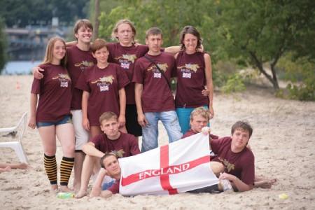 Команда Великобритания натурнире Kiev Hat 2009 (Второй дивизион, 2/12)