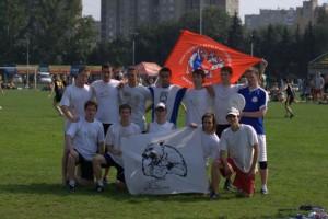 Команда Новгородские медведи натурнире ОЧР 2008 (ОД, 9/10)