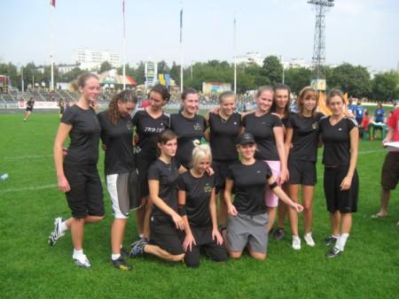 Команда Ре:Диски натурнире ОЧР 2008 (ЖД, 1/4)