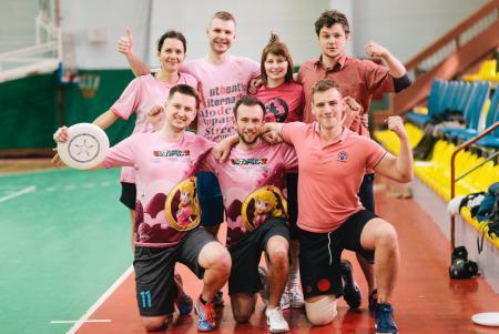 Команда K-7Lil Pinks натурнире Капялюш 2019 (МД, 4/8)