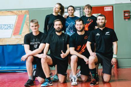 Команда K-4Hammerfall натурнире Капялюш 2019 (МД, 8/8)