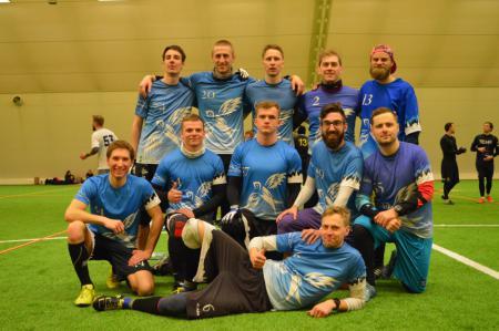 Команда Tallinn Thunder натурнире Kick in de Kök 2019 (ОД, 12/16)