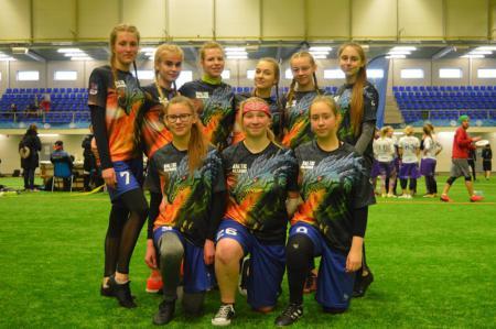Команда Baltic Dr. натурнире Kick in de Kök 2019 (ЖД, 13/13)