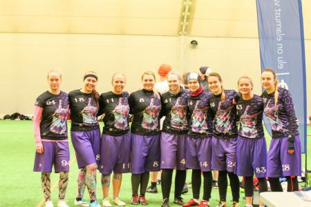 Команда Lynx натурнире Kick in de Kök 2019 (ЖД, 6/13)
