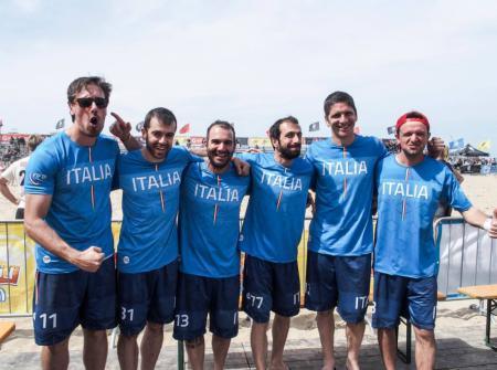Команда Italy Master натурнире Paganello 2019 (ОД, 8/28)