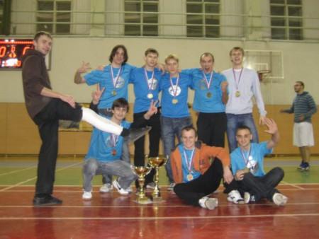 Команда Риал Файв натурнире Конституционный слет 2009 (Первый дивизион, 1/10)