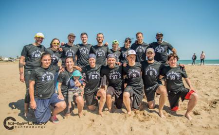 Команда Black Bonzai натурнире Copa Tanga 2019 (МД, 7/13)